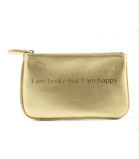 Pochette cuir HAPPY