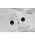 Cufflinks MOLIKA - Smokey Quartz