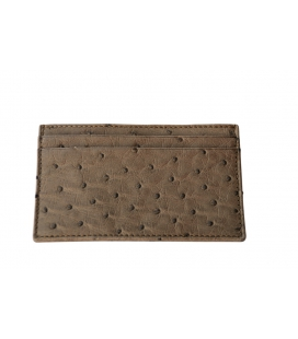 Credit card holder ostrich LUCA
