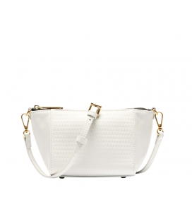 Petit sac cuir blanc GRAYSON