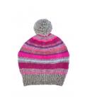 Bonnet jacquard tricoté main WHISTLER