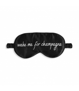 "Masque de sommeil ""WAKE ME FOR CHAMPAGNE"