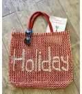 Panier jute THE JACKSONS HOLIDAY